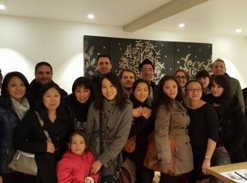 Dernier repas de Racines coréennes à Toulouse en 2015