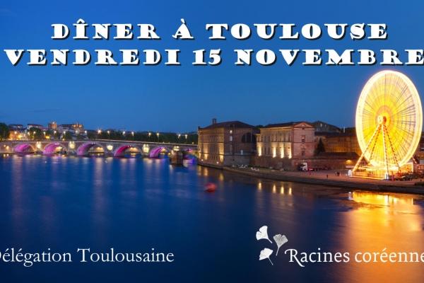 Dîner d'Automne à Toulouse – 15 novembre 2019
