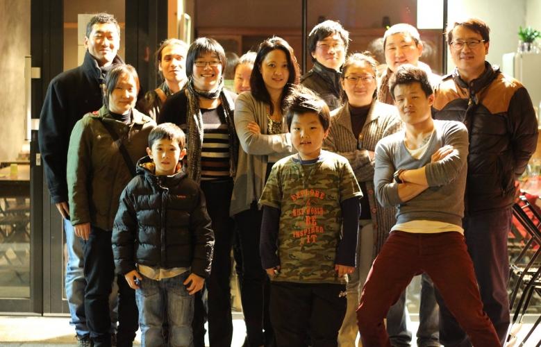 Photo du dîner de Printemps de Racines coréennes à Toulouse, le samedi 29 mars 2014
