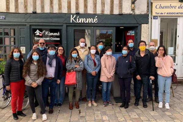 Déjeuner de rentrée à Orléans – Sept 2020
