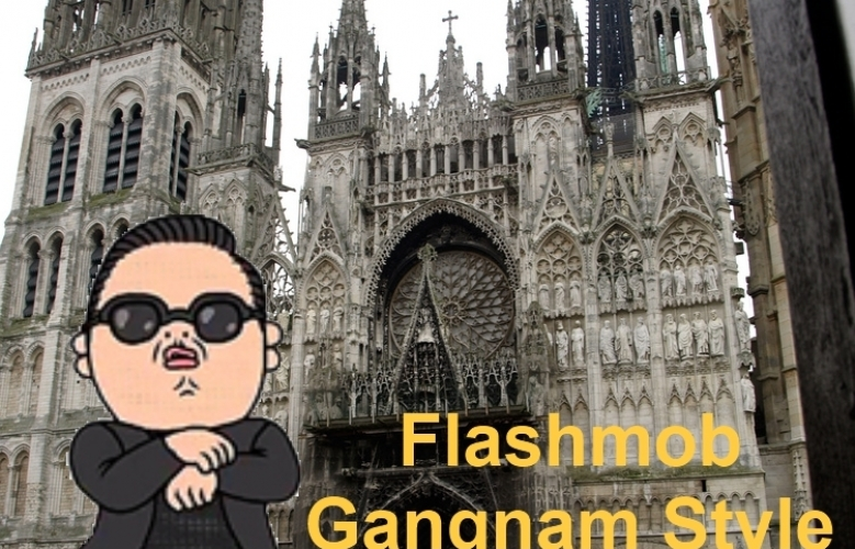 Flashmob Gangnam Style @Rouen, Samedi 17 Novembre 2012