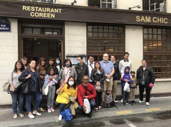 Déjeuner mensuel à Paris – 29 Août 2021