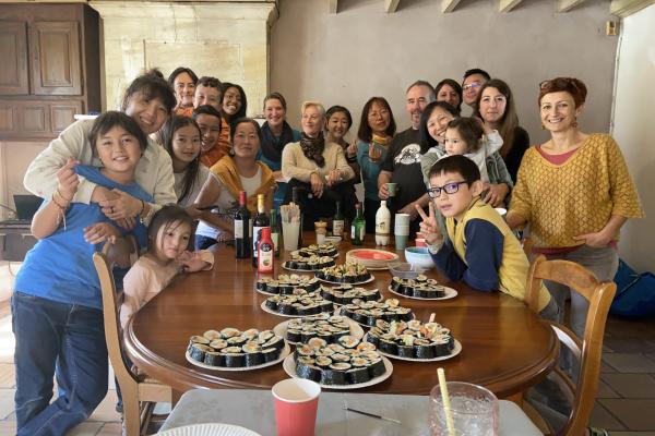 Délégation bordelaise – Atelier cuisine – Dimanche 17 octobre 2021