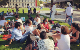Pique-nique au parc de la Villette – 13 Sept 2020