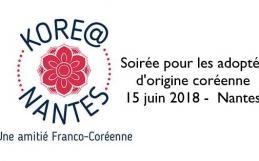 Kore@nantes : Soirée pour les adoptés d'origine coréenne / 15 juin 2018