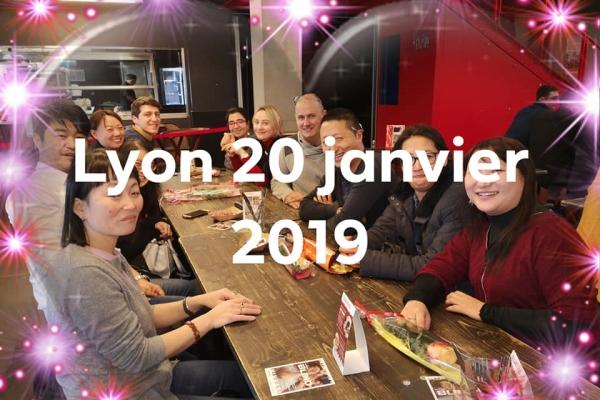 Déjeuner à Lyon au Sushimaza  – 20 Janvier 2019
