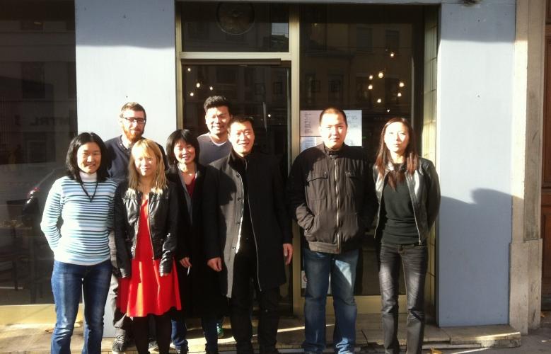 Déjeuner à Lyon pour la mi-automne – 22 novembre 2014