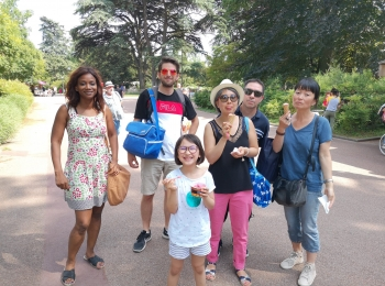 Pique-nique à Lyon au parc de la Tête d'Or – 7 Juillet 2019