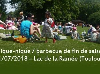 Pique-nique de fin de saison à Toulouse, dimanche 1 juillet 2018