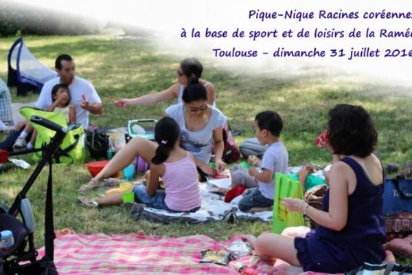 Pique-nique d'été à Toulouse, dimanche 31 juillet 2016
