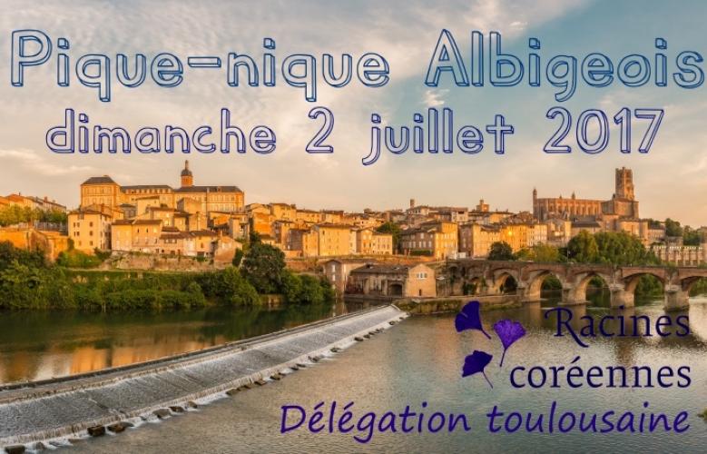 Pique-nique Albigeois – dimanche 2 Juin 2017