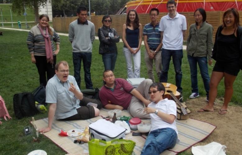Photos du Pique-nique d'été à Paris le 29 juillet 2012
