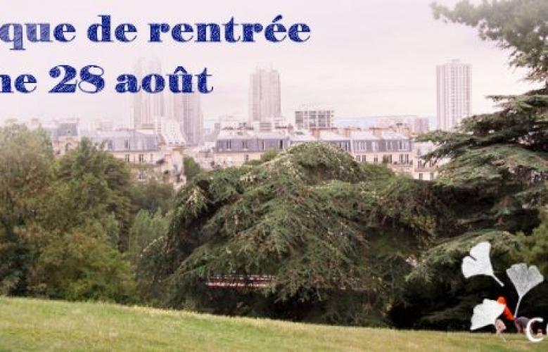 Pique-nique de rentrée de Racines coréennes à Paris, dimanche 28 août 2016