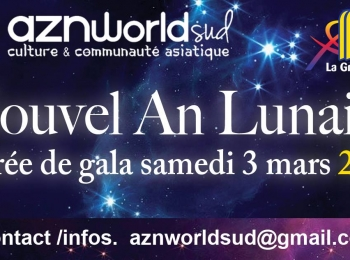 Nouvel An Lunaire 2018 par AZNWORLDSUD à La Grande-Motte