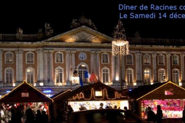 Dîner de Racines coréennes à Toulouse – samedi 14 décembre 2013