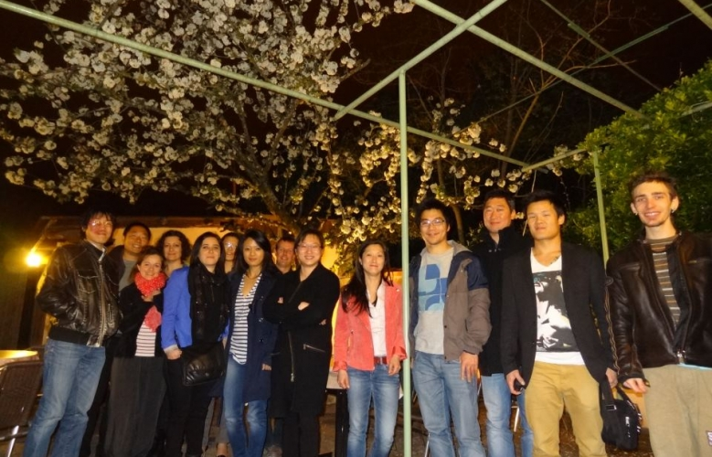 Photo du dîner printanier à Toulouse
