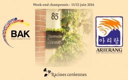 Weekend champenois – 11/12 juin 2016