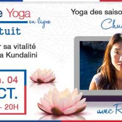 Cours de Yoga #9 – Chuseok – Le yoga des saisons avec Laure