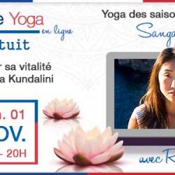 Cours de Yoga #10 – Sangalgosa – Le yoga des saisons avec Laure